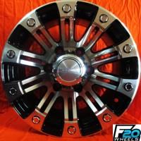 velg mobil murah bisa dicicil HSR SAHARA ring 15x8 pcd 6x139,7 et8 bmf