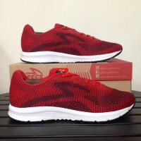 Sepatu Running/Lari Specs Overdrive Emperor Red