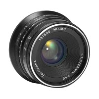 Lensa 7Artisans 25mm f1.8 For Panasonic / Lens 7Artisan 25mm Olympus - Plus Filter