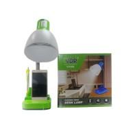 VDR V009 PLC Lampu Meja Leher Fleksibel - Lampu Belajar Organizer