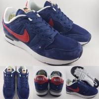 Sepatu Kets Nike Archive 83 M Suede Dark Blue Red Biru Tua Merah