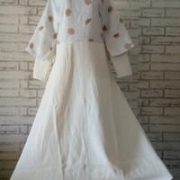 Dress Cape big size butik Import/dress big size/baju gamis/baju muslim
