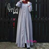 Dress maxi gamis baju polos muslim maxy elegan simpel casual santai