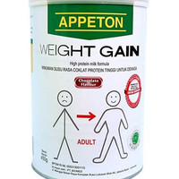 APPETON WEIGHT GAIN APETON SUSU PENAMBAH BERAT BADAN DEWASA 450GR