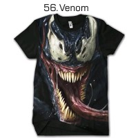 Kaos Venom 56 Tshirt Dewasa Cowok Cewek Baju Anak kids Jaman Now Bukan