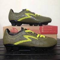 Sepatu Bola Specs Quark FG Olive Zest Green