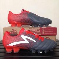 Sepatu Bola Specs Equinox FG Dark Granite Red