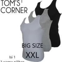 Kaos dalam BIG SIZE   Singlet JUMBO Agree   pakaian   Kaos dalam XXL