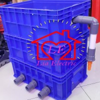 TRICKLE Filter 3 susun / Filter Kolam / Bak Filter susun / Box Filter.