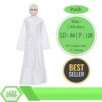 Baju Muslim Anak Putih Untuk Anak Tanggung 8-14 tahun - Harga Grosiran