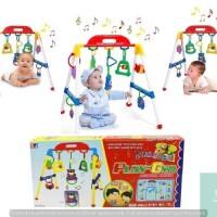 Lumi Toys Mainan Edukasi Belanja Bayi Baby Kado Musical Music Play Gym