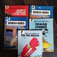 Komik jadul steven sterk penerbit Aya Media pustaka