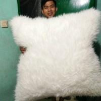 [PROMO SELIMUT HALUS] Bantal super jumbo bulu putih korea