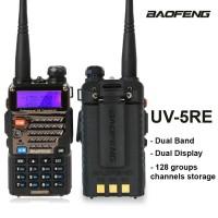 Baofeng UV-5RE HT Dualband Ori Free Handsfree Garansi ATL UV5RE 5RE