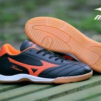 Sepatu Futsal /Mizuno Fortuna /nike/adidas/sepatu murah/hitam orange