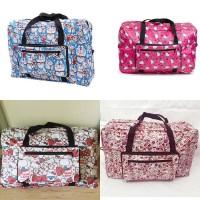 Tas Travel Lipat Handbag 1205 Hello Kitty Doraemon