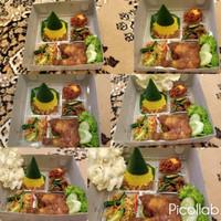 Nasi kuning/nasi kotak/ tumpeng mini