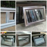Kusen jendela aluminium, Jendela kamar mandi,