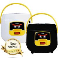 Rice cooker / Magic com Cosmos CRJ 6601 - 0.8 Liter - Hitam