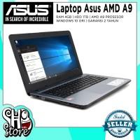 Laptop Asus Gaming AMD A9 Radeon R5 4GB RAM 1TB HDD Windows 10