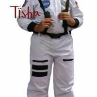 Baju Profesi Kostum Anak Kostum Astronot Warna Putih