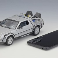 New Cool Car Model Toys 1/24 Scale Diecast Welly Back To The Future
