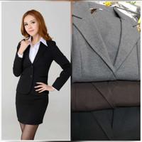 Blazer wanita outwear atasan kerja wanita