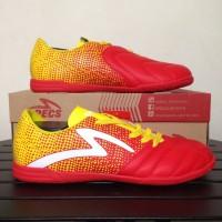 Sepatu Futsal Specs Equinox IN Emperor Red Yellow