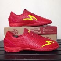 Sepatu Futsal Specs Accelerator Exocet IN Dark Red