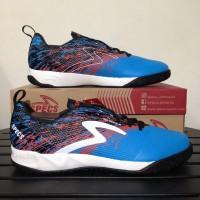 Sepatu Futsal Specs Metasala Warrior Rock Blue Red