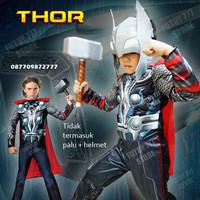 Baju kostum anak Thor Superhero Super Hero ulang tahun cosplay ultah