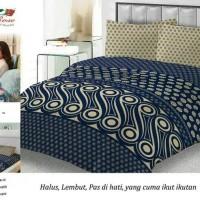 bedcover set motif batik 180x200 lady rose ori halus lembut