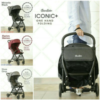 Stroller Cocolatte Iconic Plus CL-705 (Cabin Size, Include Tas Ransel)