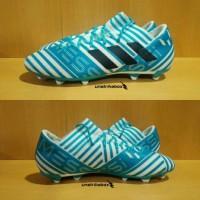 Adidas Nemeziz 17.3 FG - White Blue. Sepatu Bola Size Ukuran 44 46 47.