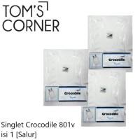 Singlet Pria Crocodile   kaos dalam   kaos oblong   Singlet Salur 801v