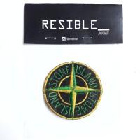 Stone Island patch emblem bordir badge