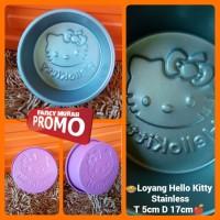 (PROMO) Cetakan Bolu Puding Hello Kitty Stainless Aluminium Teflon