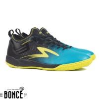 Sepatu Futsal Specs Metasala Musketeer IN - Black Coctail Blue
