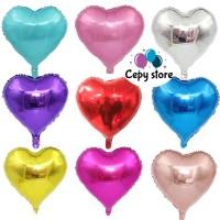 Balon Foil Love / Balon Foil Hati Mini 20cm