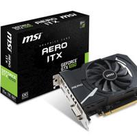 VGA Card MSI GeForce GTX 1050 2GB DDR5 - AERO ITX 2G OC