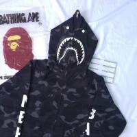 Bape x NBHD Neighborhood Shark Hoodie supreme assc off white palace