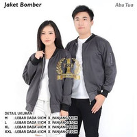 Jaket bomber couple abu tua