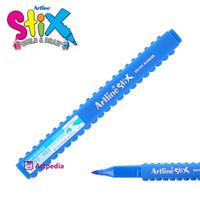 Artline Stix Brush Marker - Royal Blue / Brush Pen