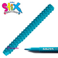 Artline Stix Brush Marker - Turquoise / Brush Pen