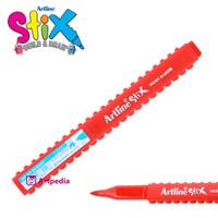 Artline Stix Brush Marker - Red / Brush Pen