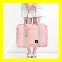 NEW Tas Travel Korean Style Easy Travel Bag Korea Foldable Hand Carry