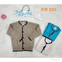 Sweater Cardigan Rajut Bay Anak JOK 229