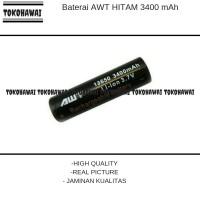 MURAH  AWT HITAM Baterai Vape Vapor 3400 mAh / Black  AUTHENTIC