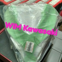 Cover batok lampu fairing depan ninja 250 fi hijau Original Kawasaki