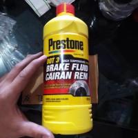 Minyak Rem Merah Prestone 1000 mL / 1 liter Dot-3 untuk motor , mobil